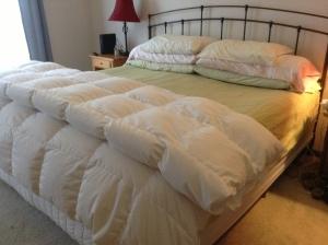How I like to keep my bed