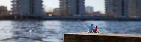 One Day Son, by Slinkachu