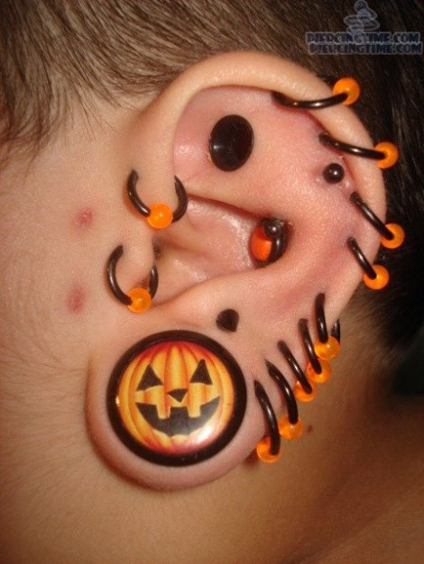 crazy good parent gauged ear